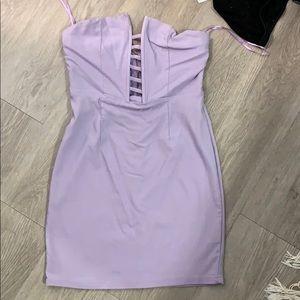 Mini dress purple size small